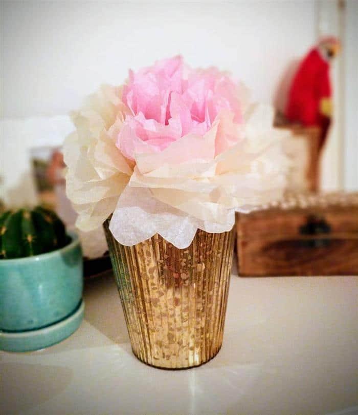 flores e seda simples