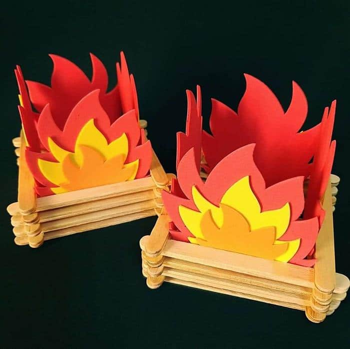 fogueira artesanal