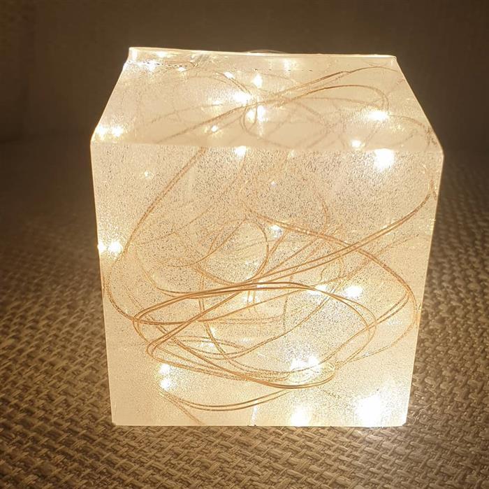 luminaria de epoxi