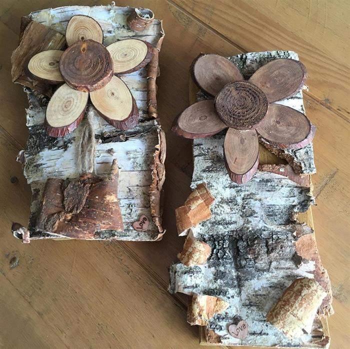 quadro de madeira talhada