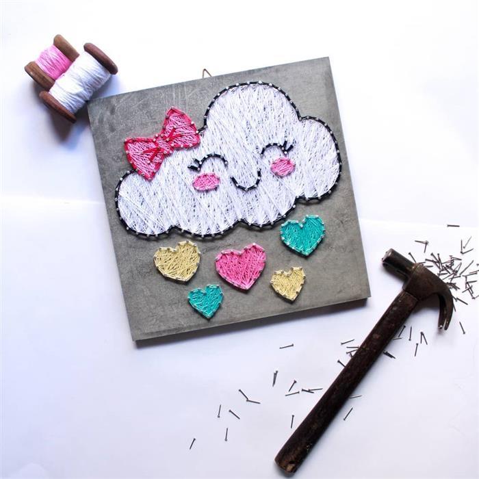 quadro nuvem de amor