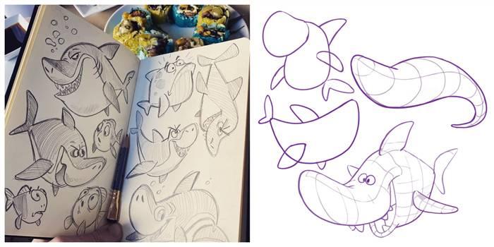 como desenhar melhor com riscos de desenho