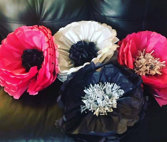 tipos de flores de seda