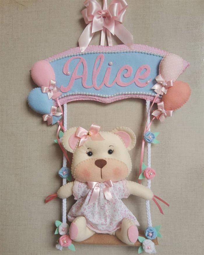 ursinha para decorar quarto de bebe