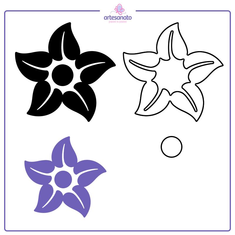 flor de 5 petalas
