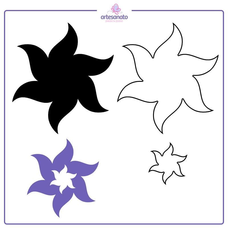 flor de 6 petalas