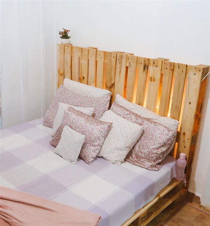 ideias de camas de madeira