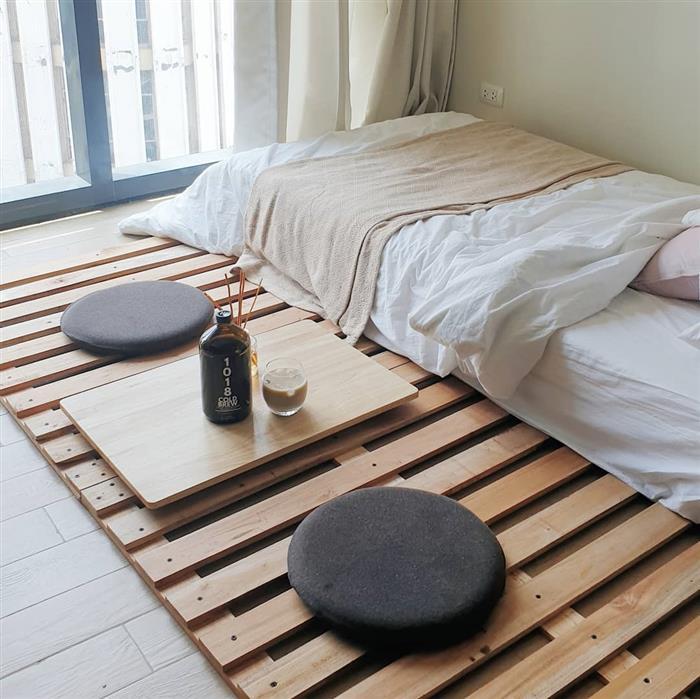 cama de palete montessoriana