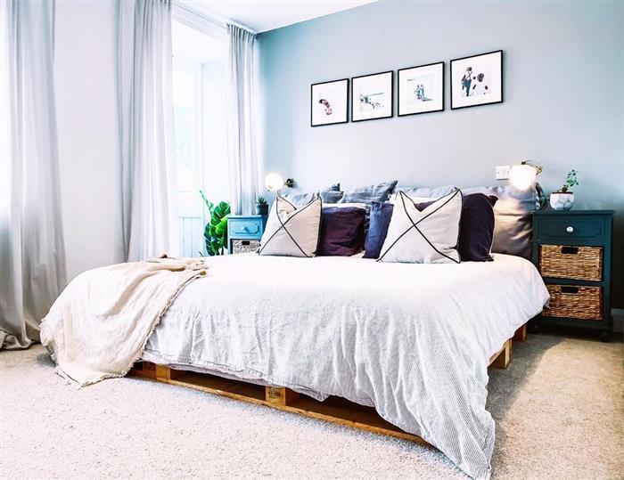 cama de palete barata