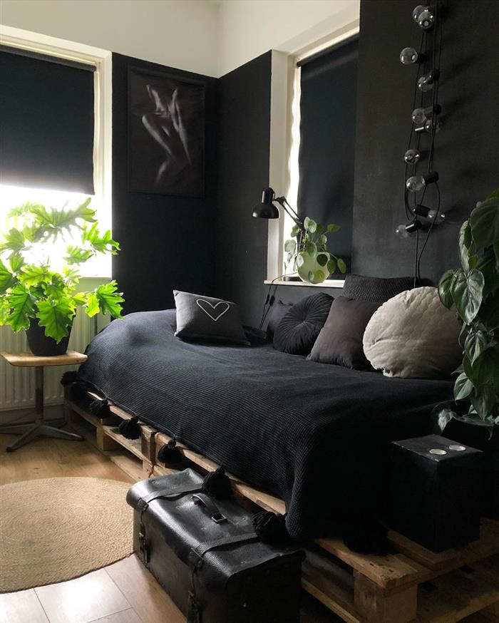 camas de paletes solteiro
