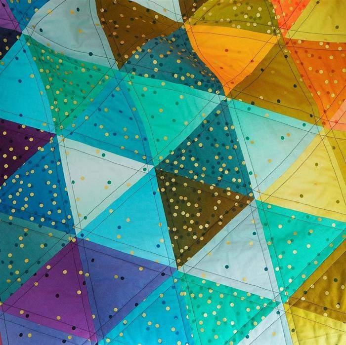quilting para iniciantes triangulo