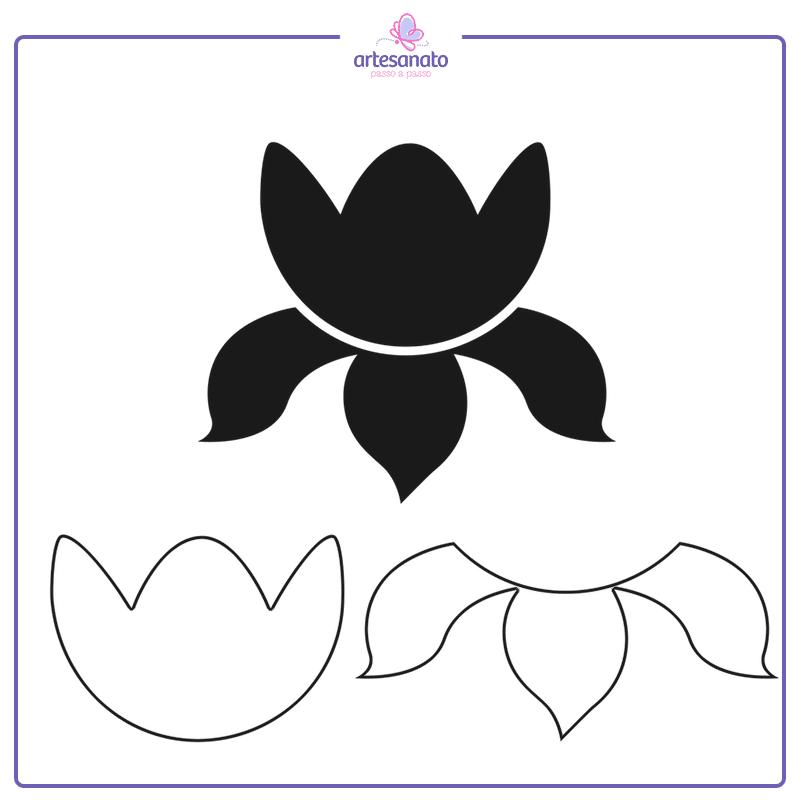 flor orquidea para imprimir