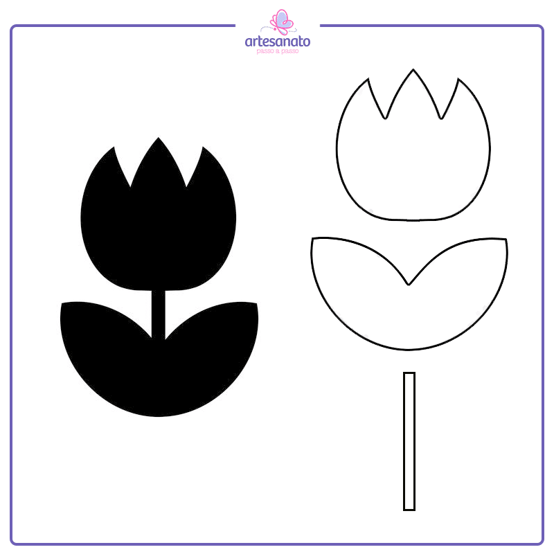 flor para silhouette