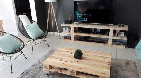 rack com madeira simples