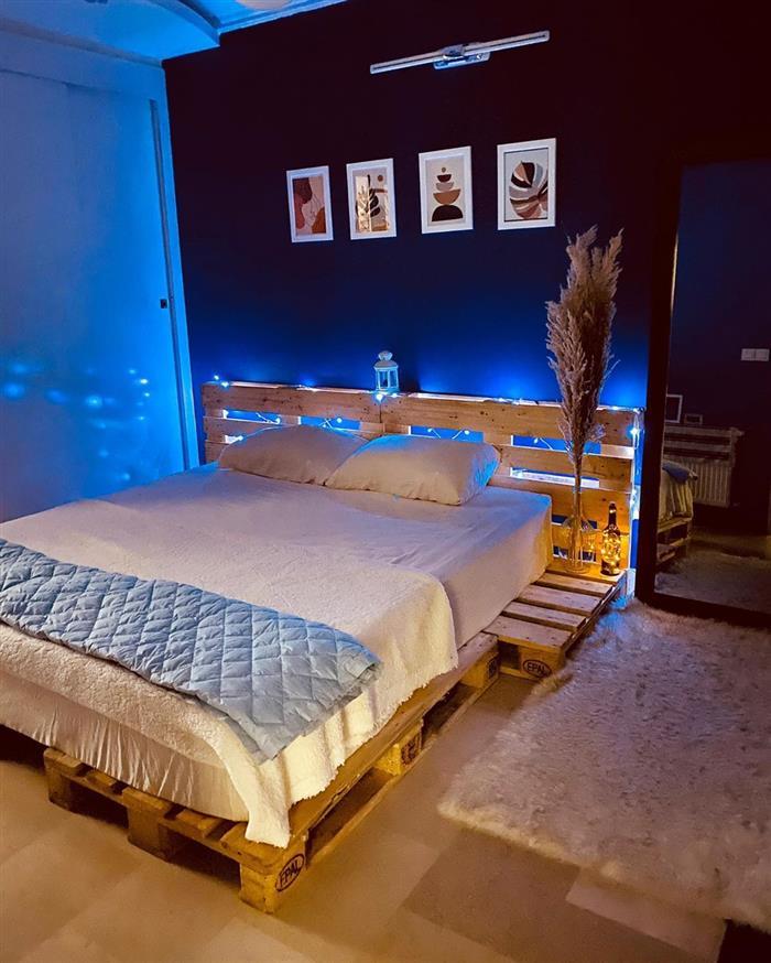cama de palete casal