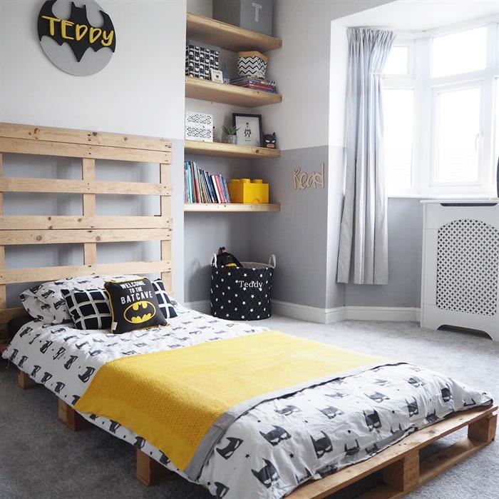 cama de paletes infantil