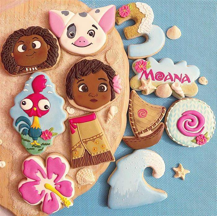 biscoitos personalizados moana