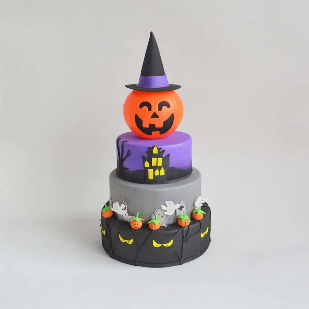 bolo falso de Halloween