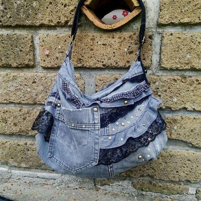 bolsa personalizada jeans