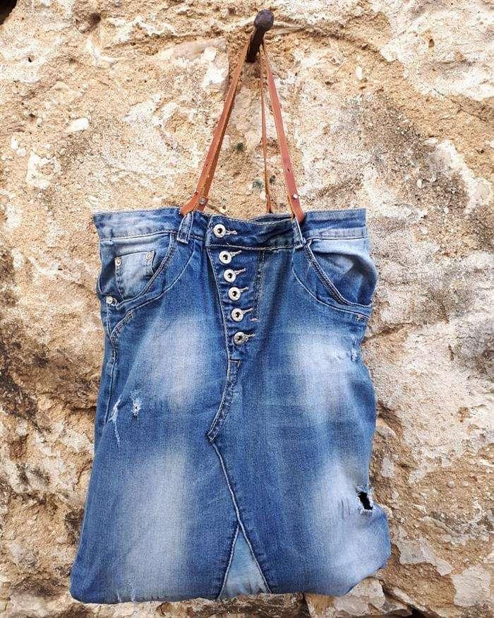 bolsa saco jeans