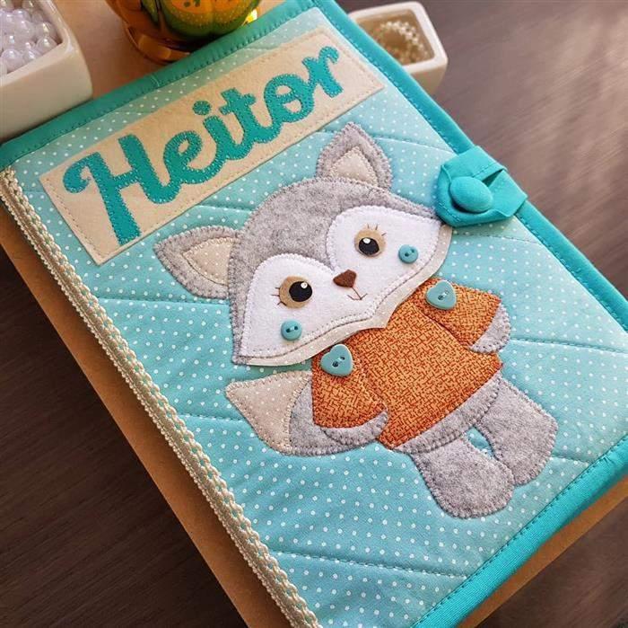 caderneta infantil