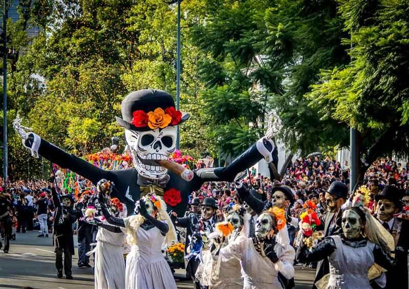 festa dos mortos no mexico