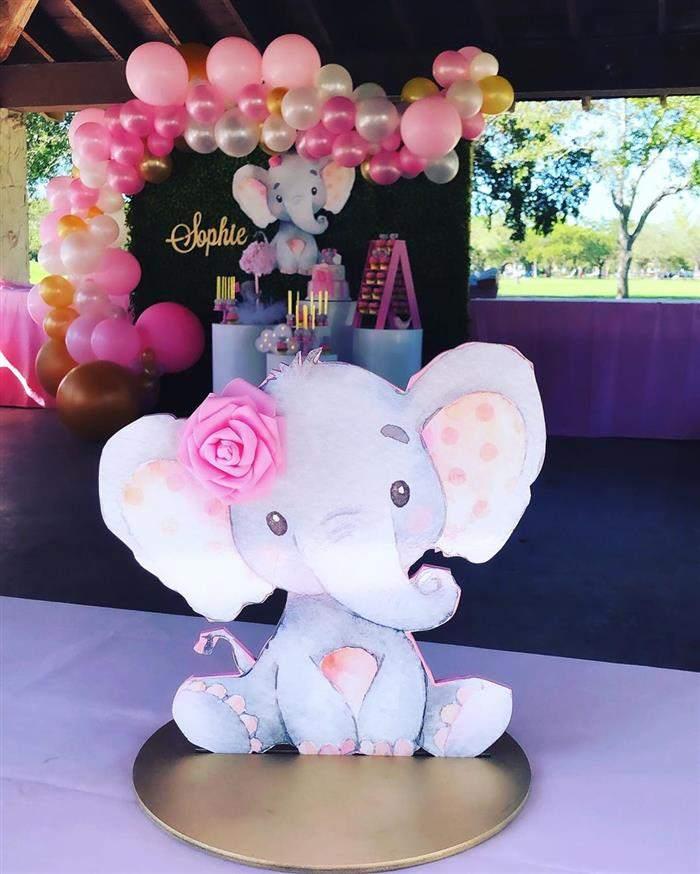 cha de bebe elefantinho