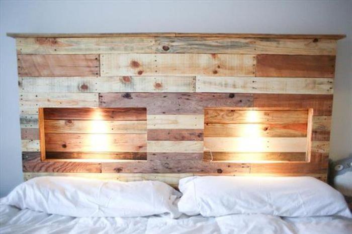 cabeceira de madeira rustica