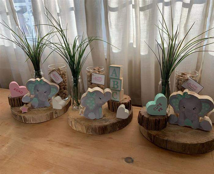 elefantinhos para decoração