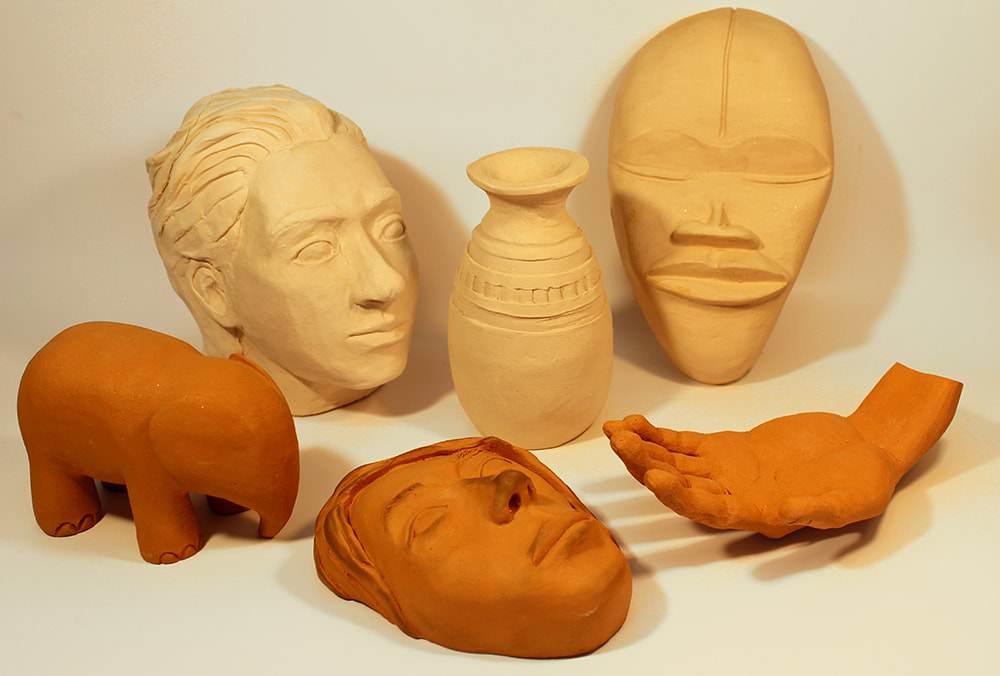 escultura-modelagem-em-argila