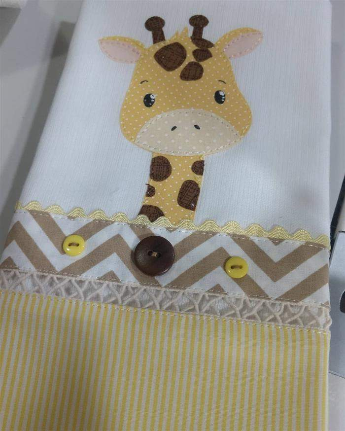 falda de bebe com patch