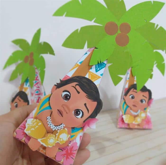 festa moana baby simples