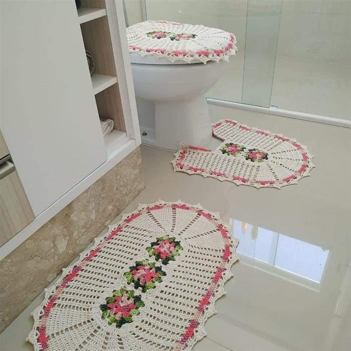 jogo barbante para banheiro