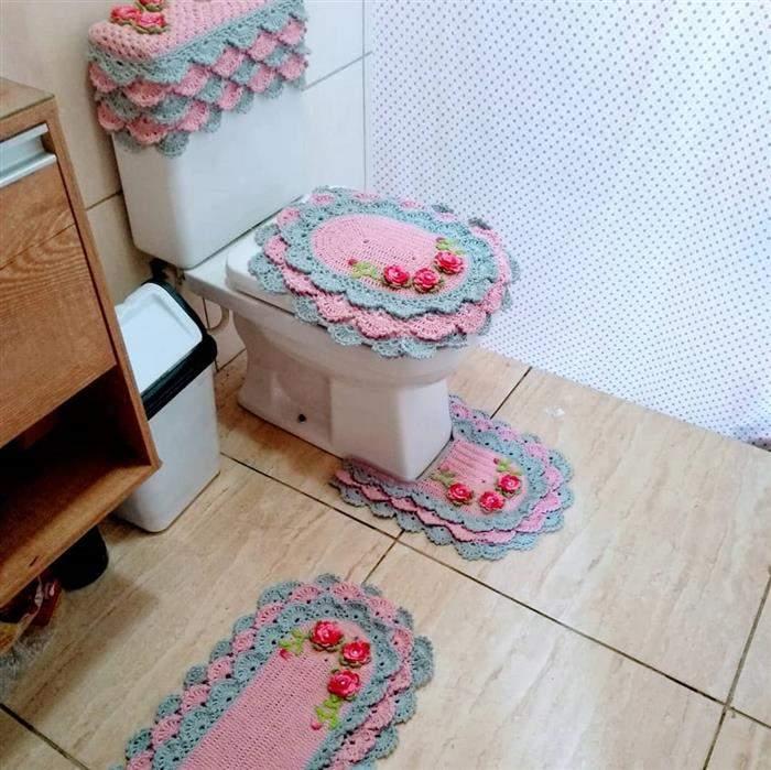 joguinho de banheiro de croche