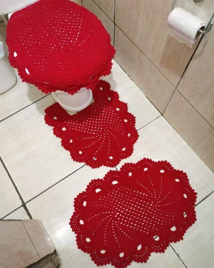 joguinho vermelho para banheiro