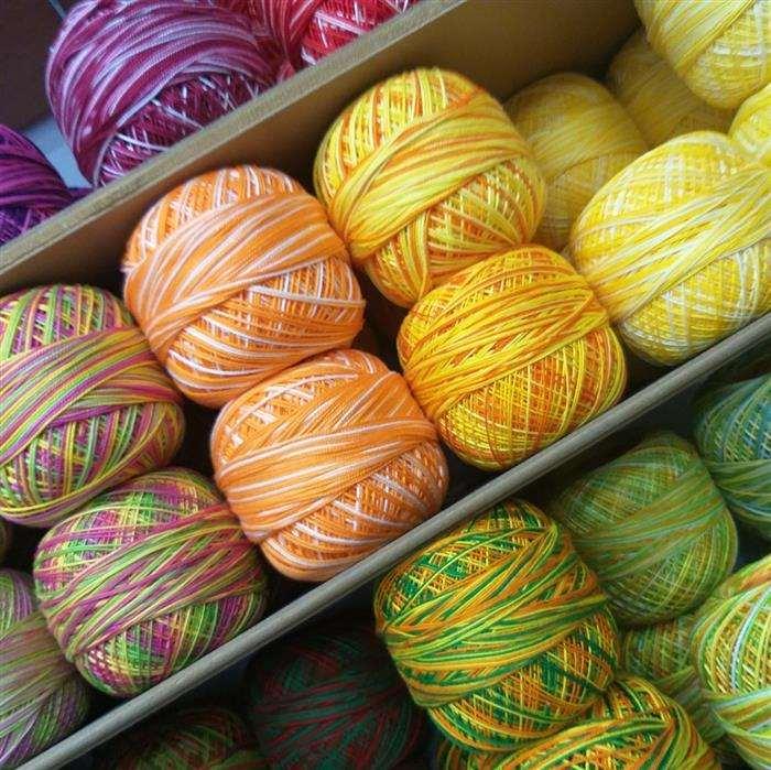 linhas de croche