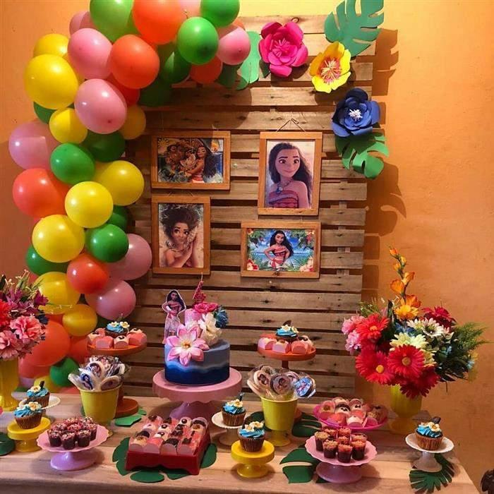 moana festa de aniversário