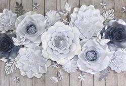 ideias flores de papel
