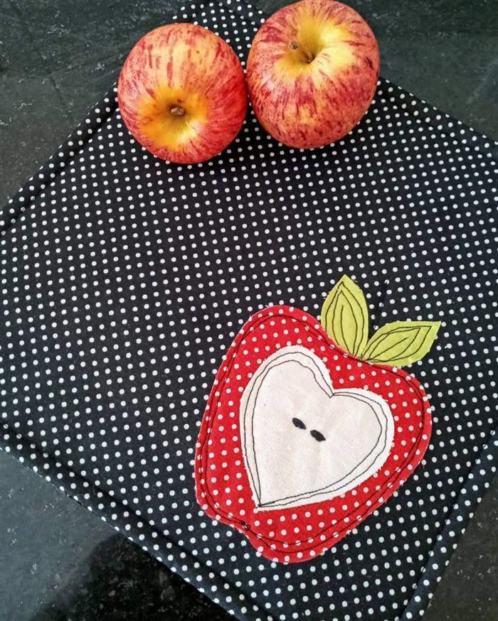 patch aplique frutas