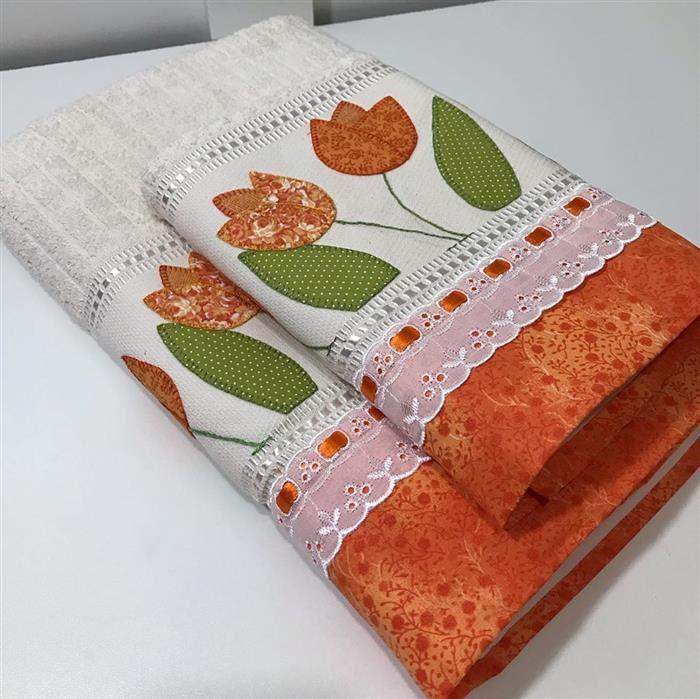 patch aplique toalha de banho