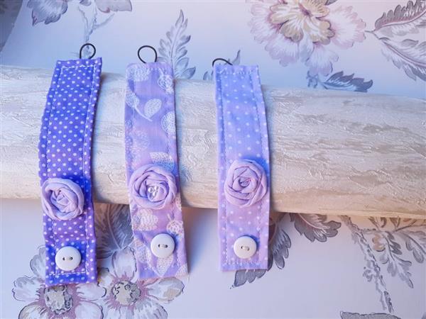 pulseira com flore