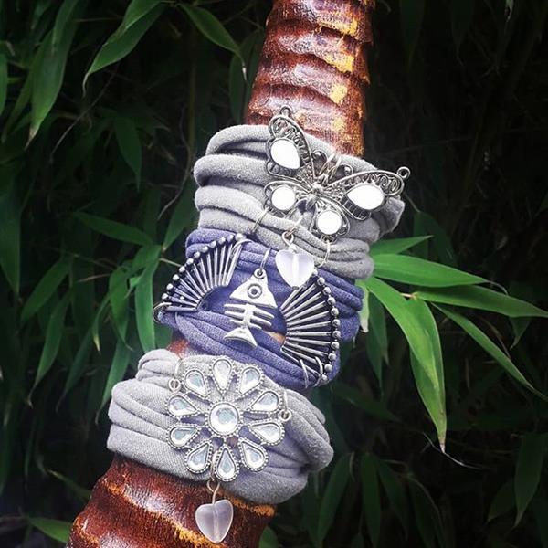 pulseira de malha