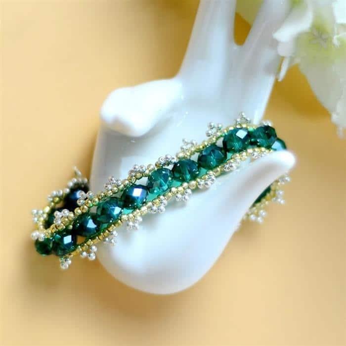 pulseira verde