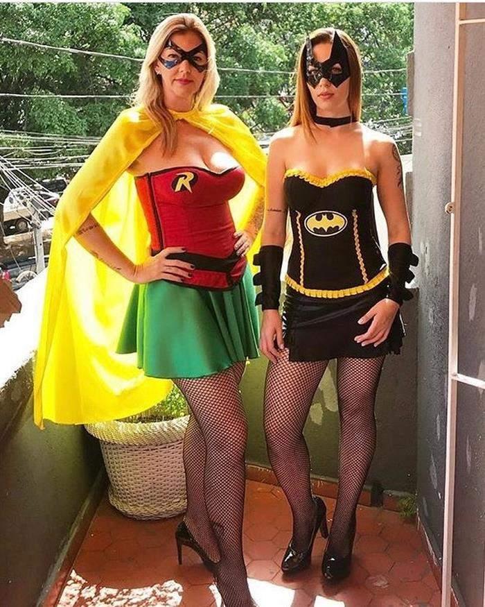 fantasia robin e batgirl