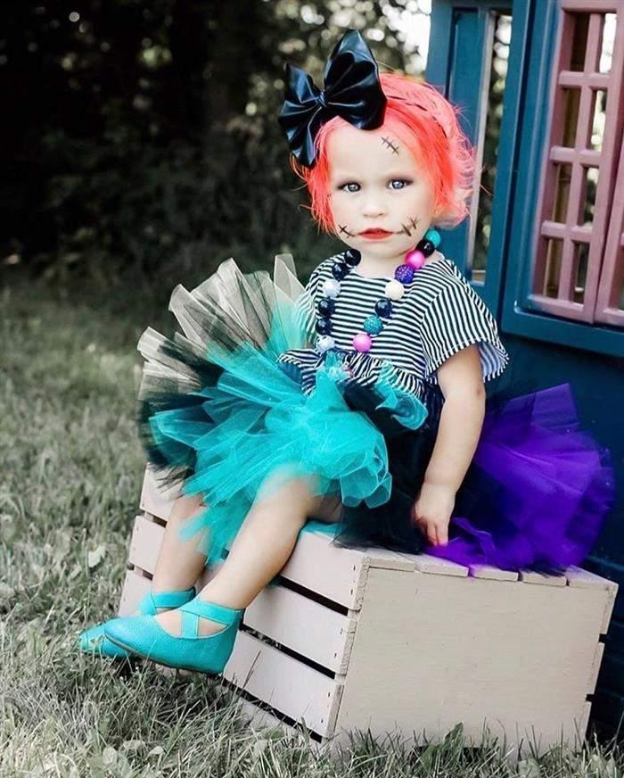 fantasia de dia das bruxas infantil