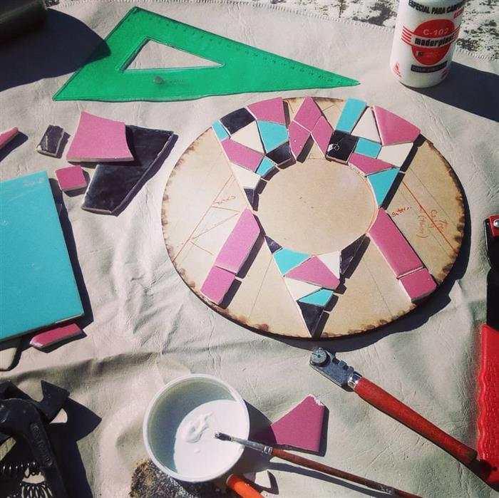 mosaico criativo