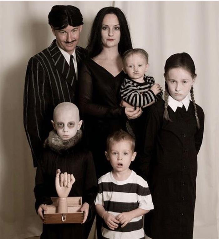 fantasia da familia adams