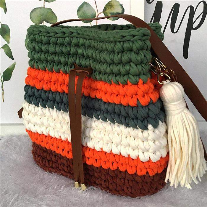 bolsa com tres cores