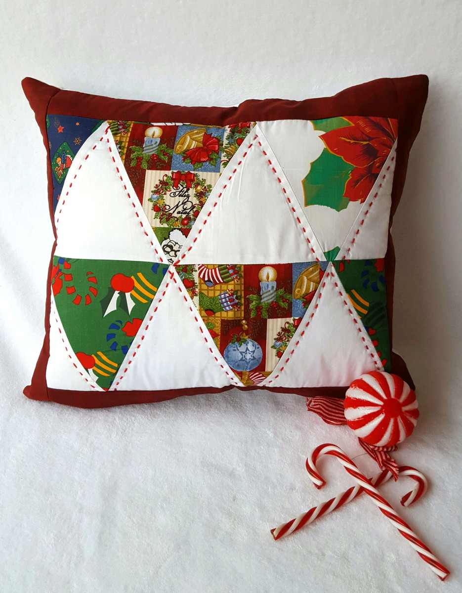 costura criativa de natal