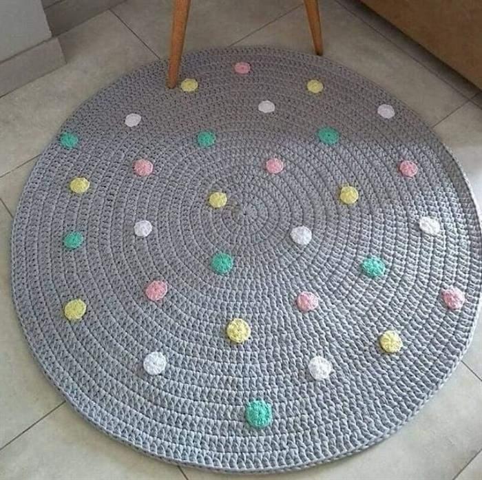 tapete circular